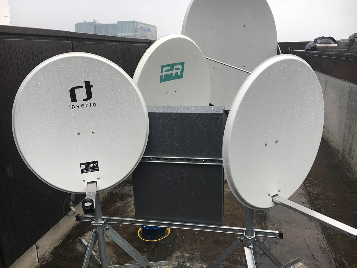 Wood Wharf TV Aerial System