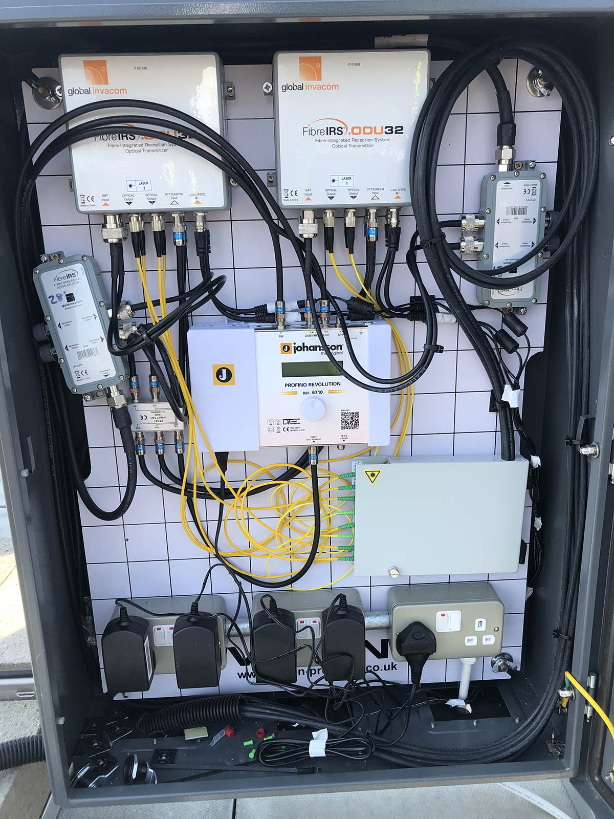 Fibre Integrated Reception System